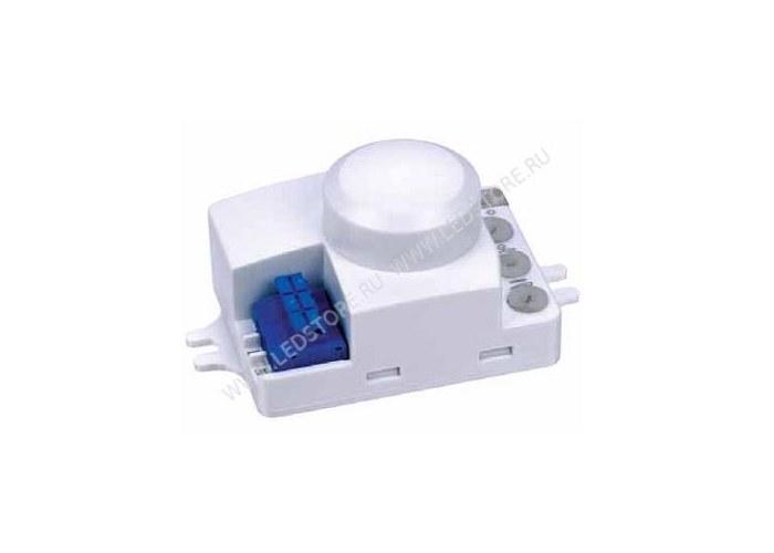 Микроволновый датчик движения, совмещенный с датчиком освещенности, работает через двери и тонкие стены...